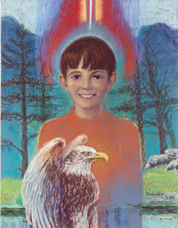 Boy with Eagle